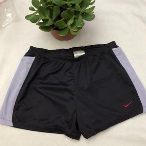Nike Dri-Fit Purple S (4-6) Drawstring Shorts
